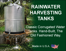 Rain Water Harvesting Tanks